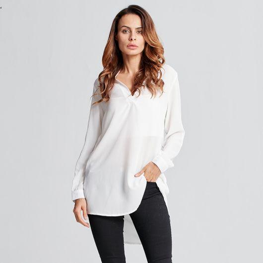 camisa oversized feminina com calça justa