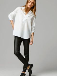 camisa oversized feminina com calça legging