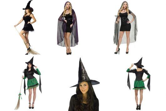 fantasia de bruxa da Rica Festa