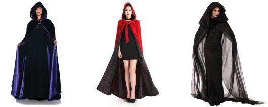 fantasia de bruxa com capa