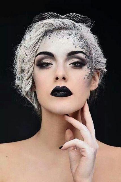 maquiagem para fantasia de bruxa