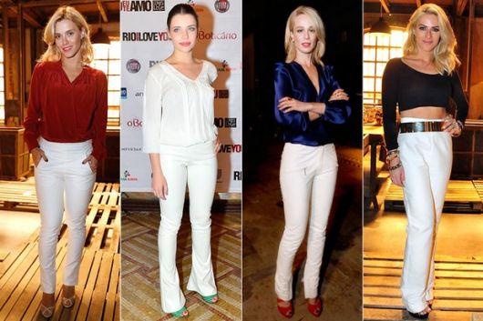 Looks com Calça Branca: 133 ideias incríveis para seguir essa tendência