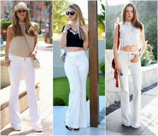 Looks com Calça Branca  133 ideias incríveis para seguir essa tendência 15f8c39914cca