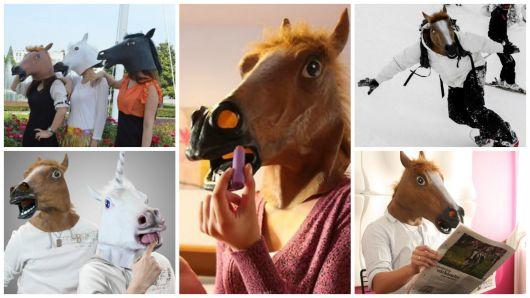 Máscara cabeça de cavalo: 44 fotos divertidas para se inspirar!