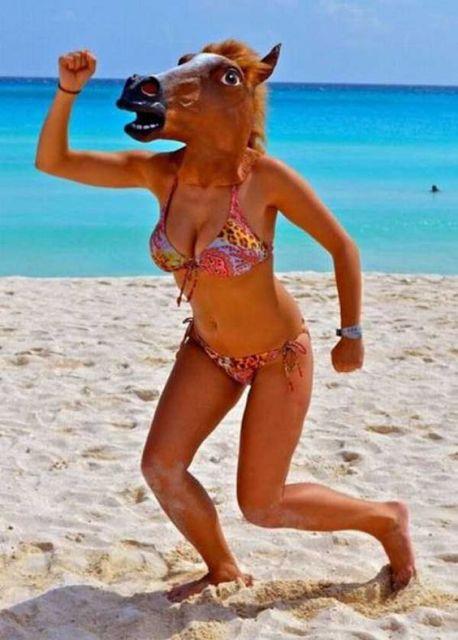 foto praia mulher