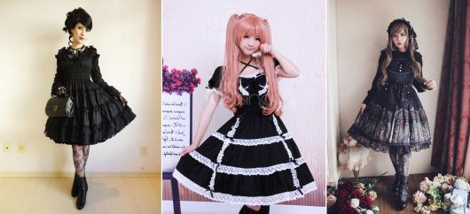 moda japonesa gothic lolita