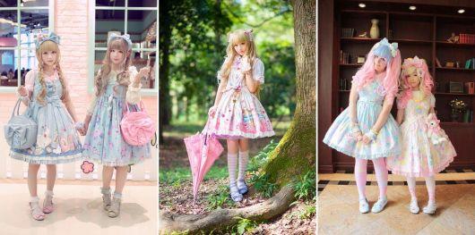 moda japonesa sweet lolita