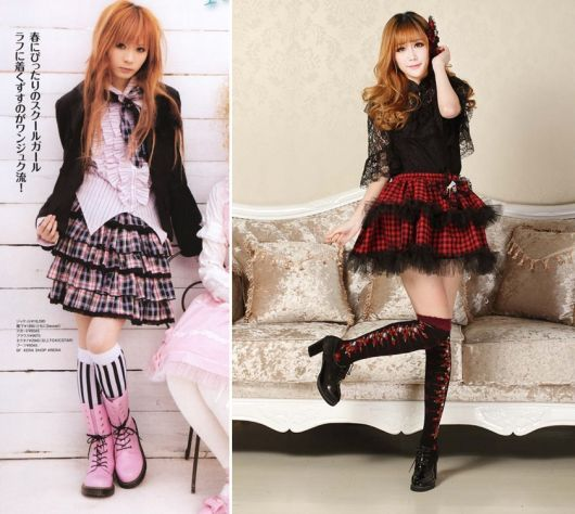 moda japonesa punk lolita