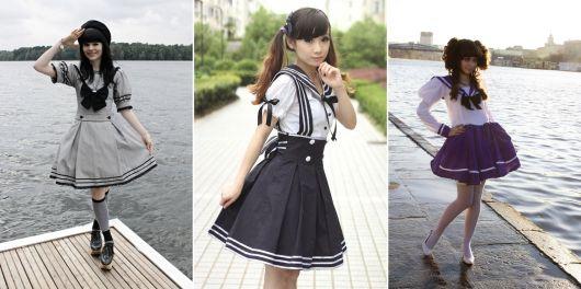 moda japonesa sailor lolita