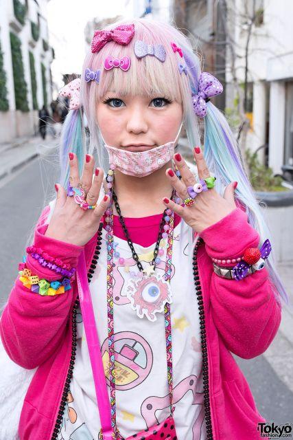 moda japonesa pink decora