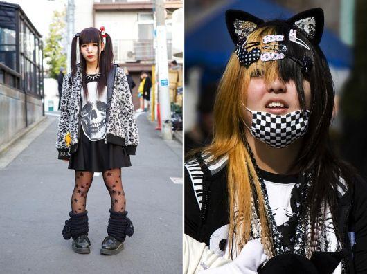 moda japonesa black decora