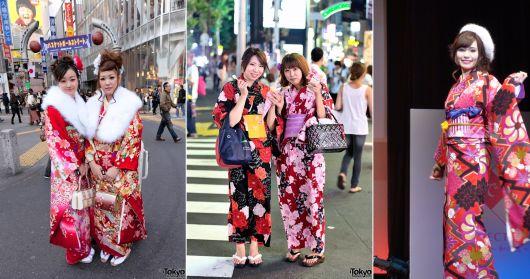 moda japonesa kimono