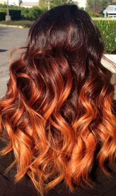 ombre-hair-vermelho-cobre