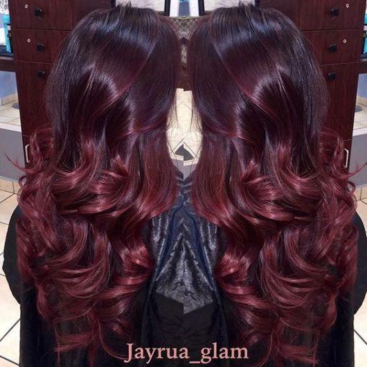 ombre-hair-vermelho-cor-de-vinho