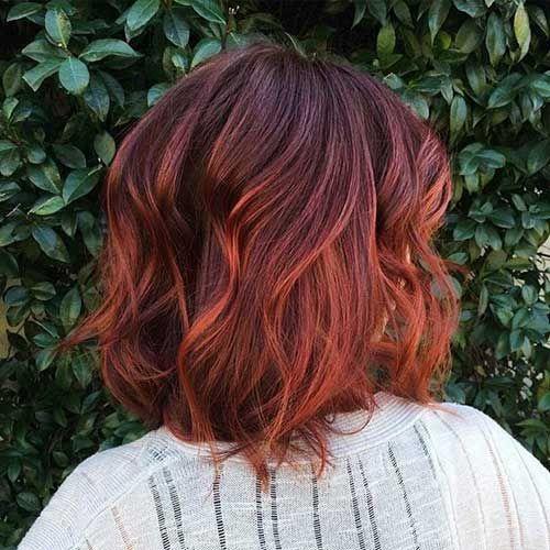 ombre-hair-vermelho-corte-curto
