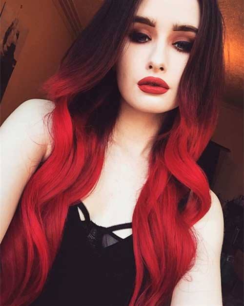 ombre-hair-vermelho-intenso