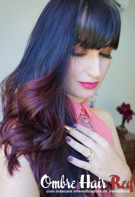ombre-hair-vermelho-liso