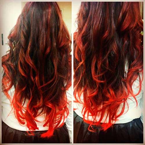 ombre-hair-vermelho-vivo