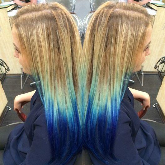 ombr233 hair azul dicas 63 tend234ncias que v227o te conquistar