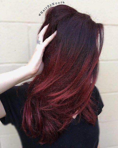 ombre-hair-vermelho-lindo