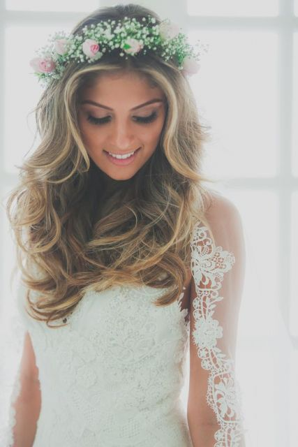 penteado solto noiva