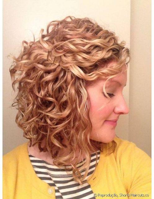 penteado com grampo