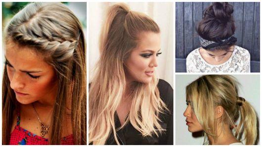 penteados simples dia a dia