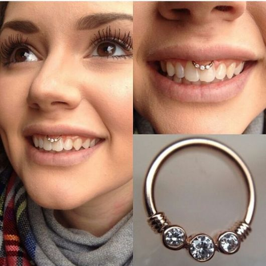 piercing indiano smile