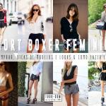 Short Boxer Feminino: Dicas de Modelos e Looks, Onde Comprar & DIY!