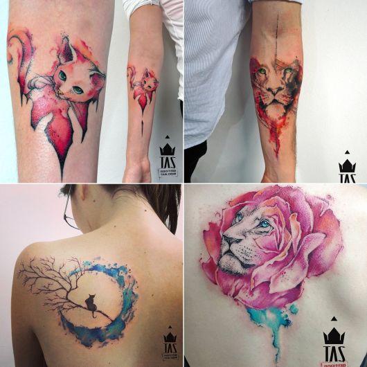 tatuagens de Rodrigo Tas