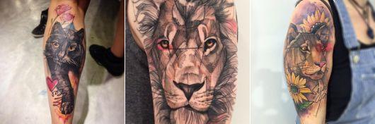tatuagens de Lincoln Lima