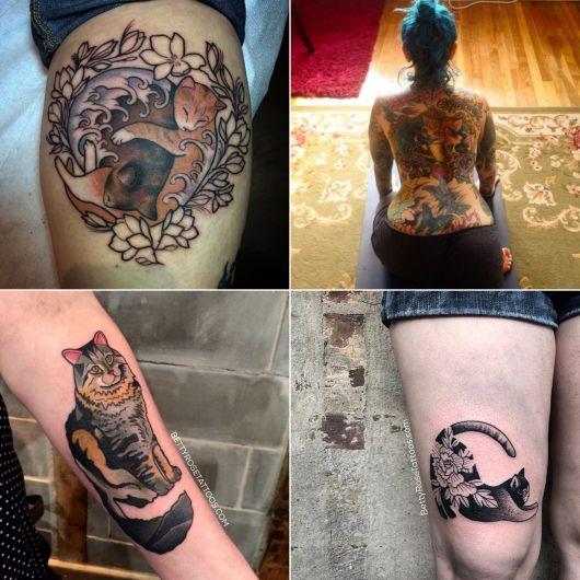 tatuagens de Betty Rose