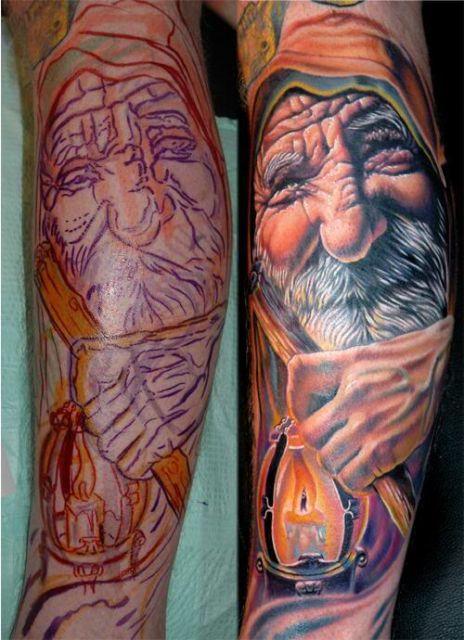 tatuagem-de-magos-na-perna-4