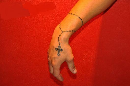 Tatuagem De Terço Significado Dicas E 70 Ideias Incríveis