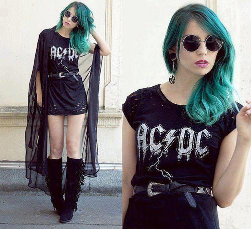 vestido-camiseta-rock