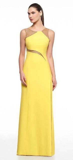 vestido amarelo claro