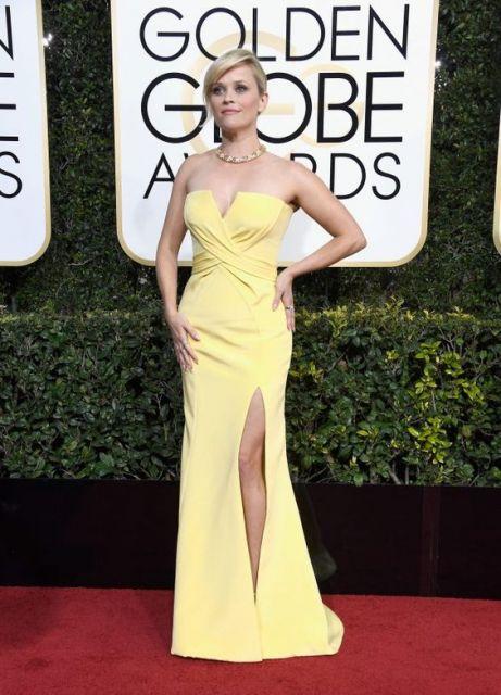 vestido amarelo loiras