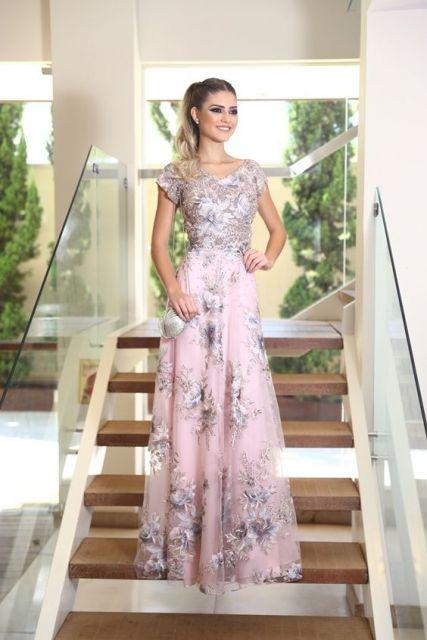 73117e0ec Vestido de festa longo  dicas e 86 looks lindos para se inspirar!
