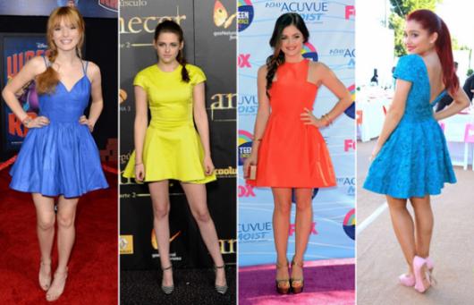 vestido-de-festa-para-baixinhas-curto-coloridos