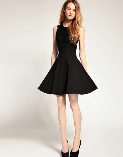 vestido-de-festa-preto-rodado