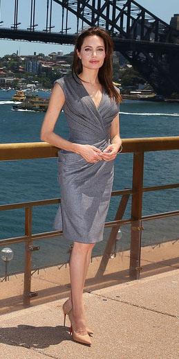 Inspire-se na linda atriz Angelina Jolie!