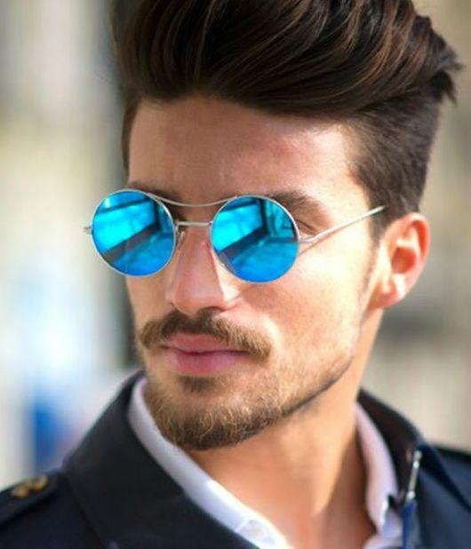 2834aa05a Quer conhecer algumas dicas de modelos de óculos masculinos espelhados? Nós  separamos vários para te mostrar, veja só: