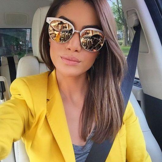 fa3465fc92de1 Óculos de Sol Espelhado  Tudo sobre essa tendência e 55 modelos