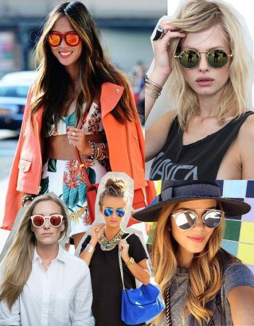 Óculos de Sol Espelhado  Tudo sobre essa tendência e 55 modelos 9d3dad45c8