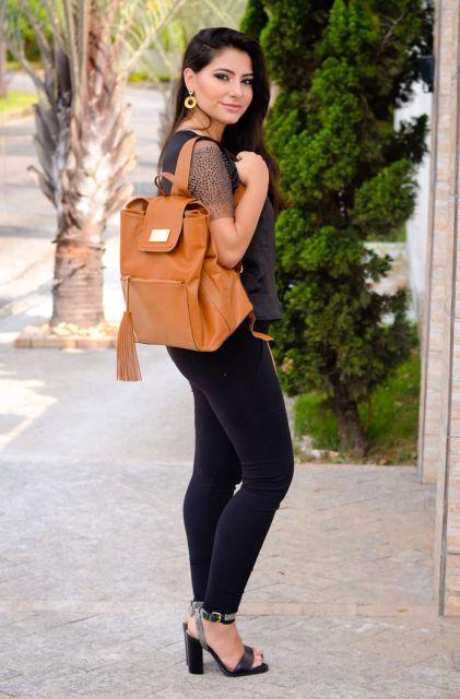 Bolsa De Couro Tipo Saco : Bolsa de couro feminina modelos como usar e looks para