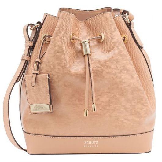 Tipo Saco   Bucket Bag. bolsa saco e79563292a6