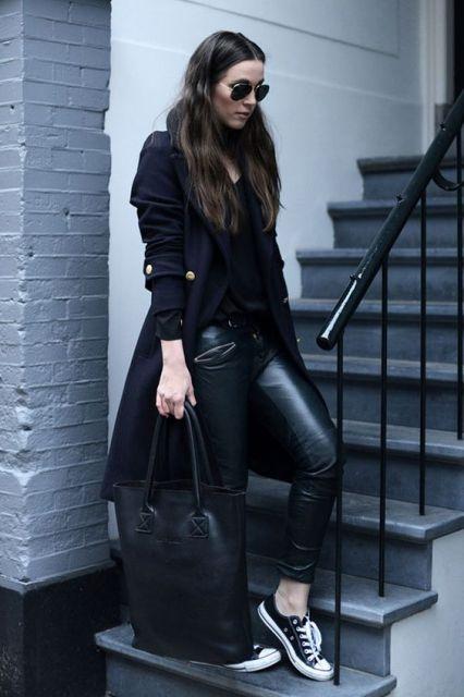 look inverno com casaco