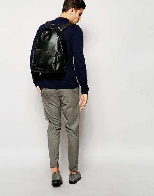 Bolsa De Mão Como Usar : Bolsa de couro masculina modelos dicas e looks incr?veis