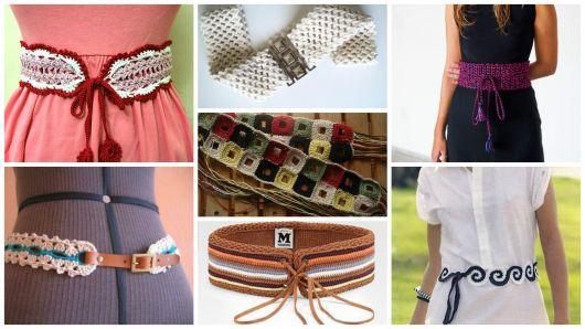 Cinto de Crochê: 70 Modelos, Dicas, muitos Gráficos e Receitas!