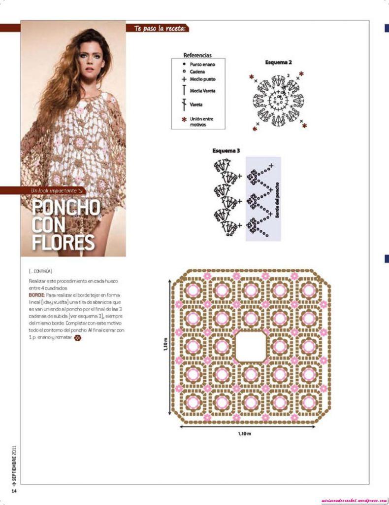 gráfico modelo com flores